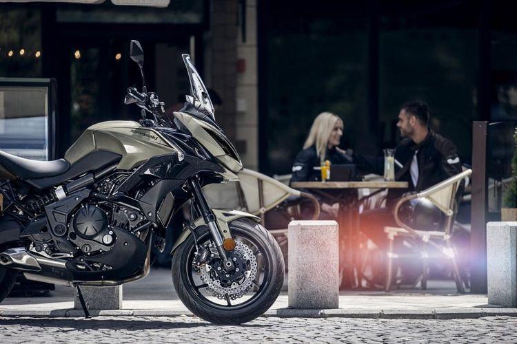Мотоцикл Kawasaki Versys 650 - эндуро-туристический мотоцикл среднего уровня
