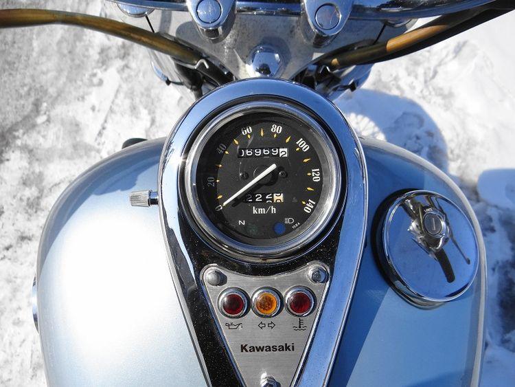 Мотоцикл Kawasaki VN 400 Vulcan