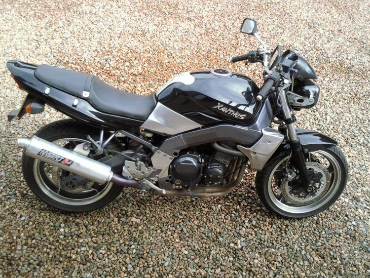 Мотоцикл Kawasaki Xanthus 400