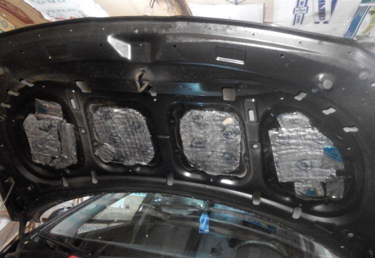 Снятие и установка капота Hyundai Solaris
