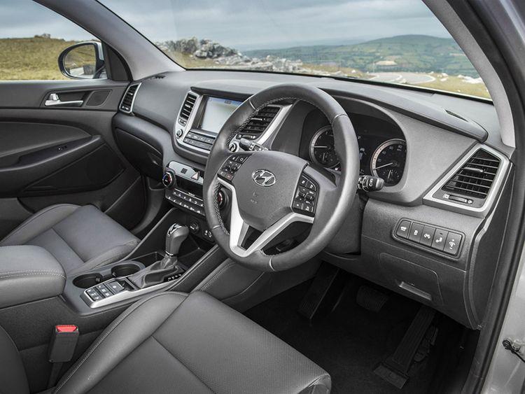 Комплектации Hyundai Tucson
