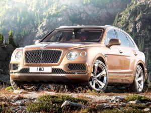 Bentley Bentayga 2016 года фото видео обзор