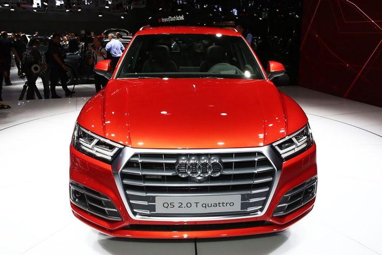 Audi Q5 2017 года фото видео обзор