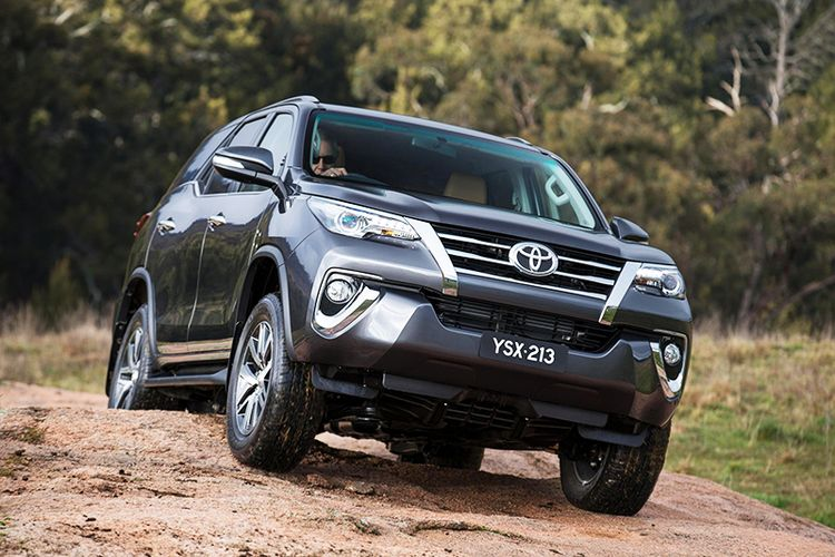 Toyota Fortuner 2017 года фото видео обзор