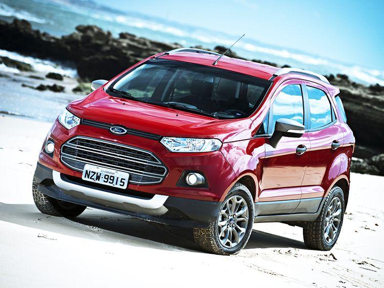 Обновленный Ford EcoSport 2016 года фото видео обзор