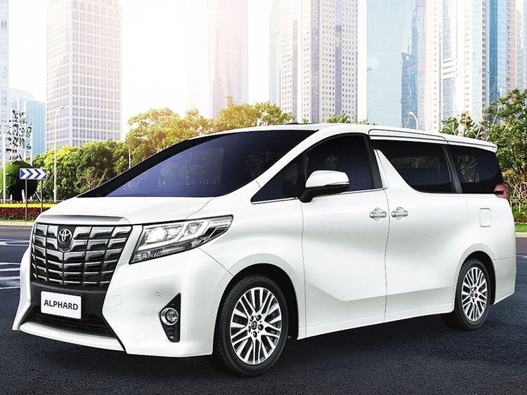 Обновленная Toyota Alphard 2016 года фото видео обзор