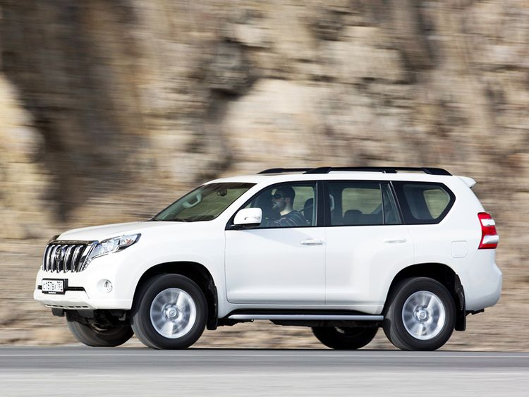 Габариты Land Cruiser Prado