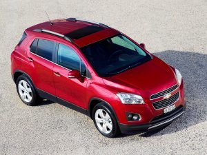 Новый Chevrolet Tracker 2016 года фото видео обзор