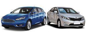 Сравнить Киа Рио и Форд Фокус 3 2016 года фото видео обзор