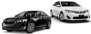 Сравнить Киа Оптима и Тойота Камри 2016 года фото видео обзор