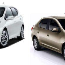 Сравнить Kia Rio и Renault Logan