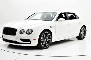 Новый Bentley Continental Flying Spur видео обзор