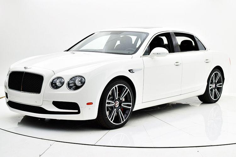 Новый Bentley Continental Flying Spur видео обзор