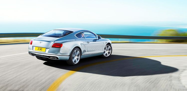 Габариты Continental GT coupe