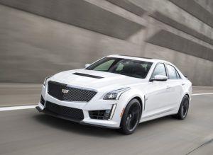 Обновленный Cadillac CTS-V 2017 года фото видео обзор