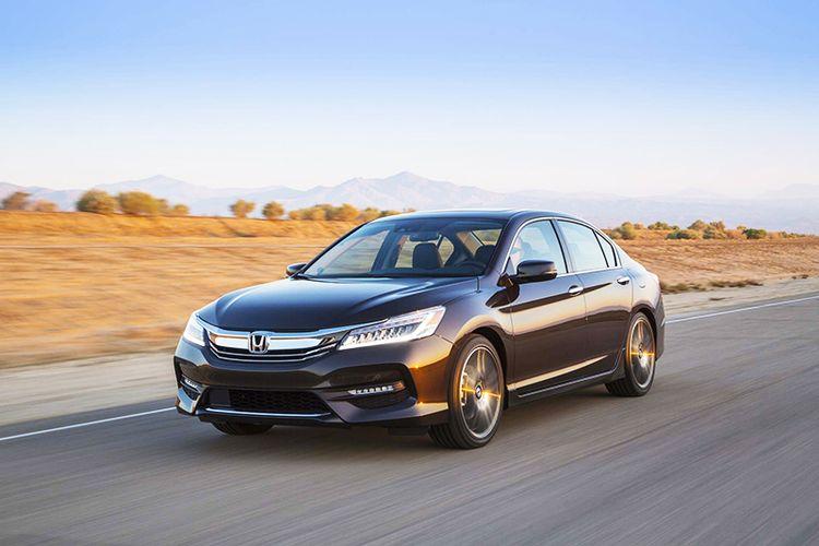 Новая Honda Accord видео