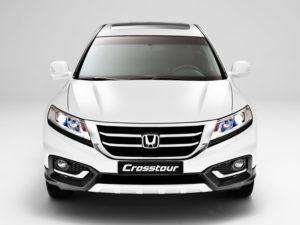Актуализированная Honda Crosstour видео