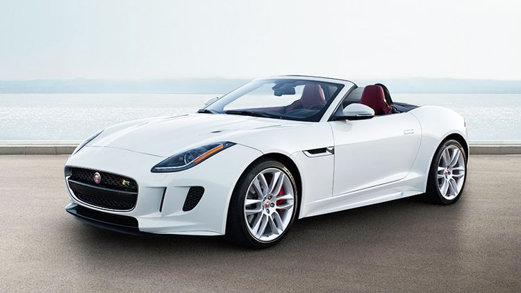 Jaguar F-Type кабриолет видео фото обзор