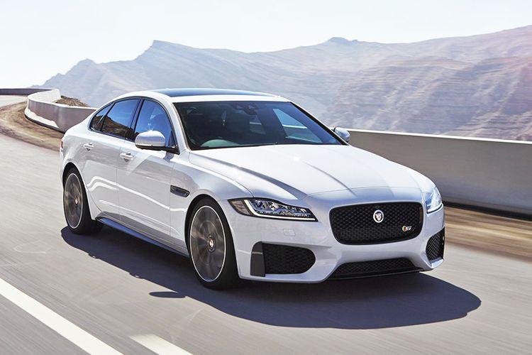 Новый Jaguar XF седан фотогалерея