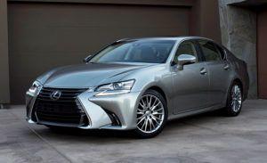 Обновленный Lexus GS седан видео
