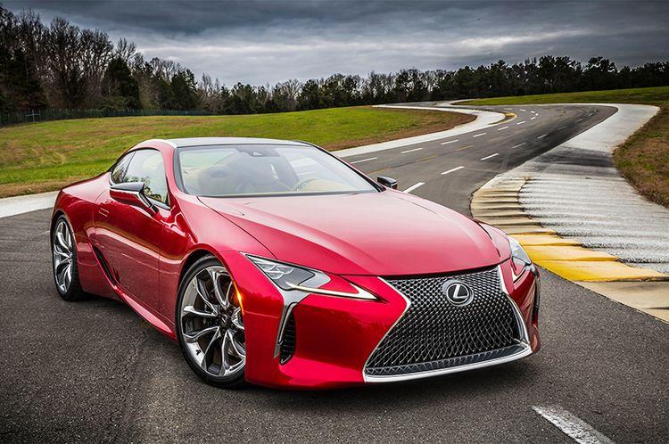 Доработанный Lexus LC купе обзор