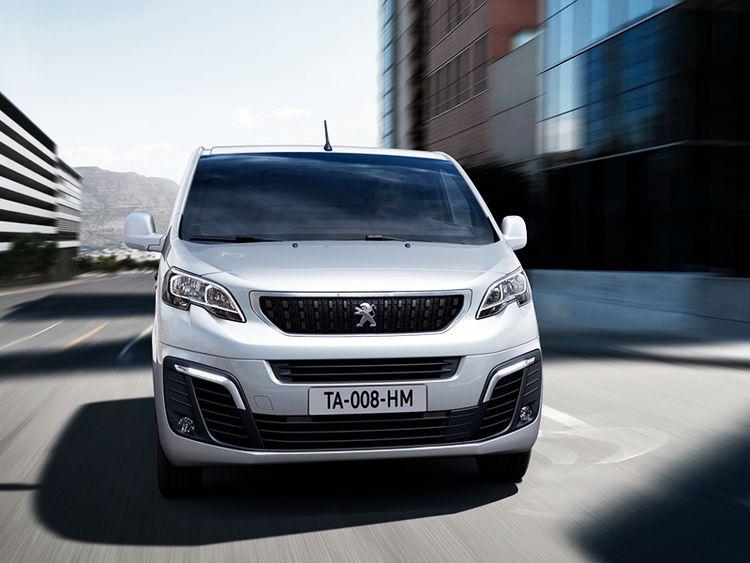 Peugeot Expert фургон и микроавтобус видео