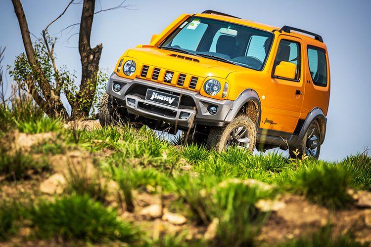 Новый Suzuki Jimny внедорожник видео