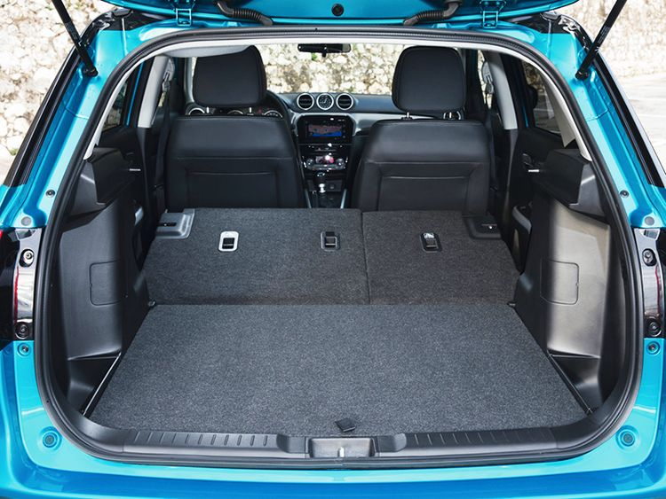 Suzuki Vitara Bagazhnik - Сузуки гранд витара фото салона и багажника