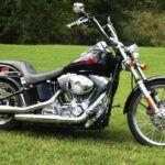 Усовершенствованный Harley-Davidson FXST Softail Standart 1999-2007 (6 фото)