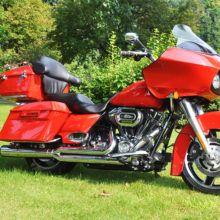 Harley-Davidson Road Glide 2010, в стильном облике, (6 фото)