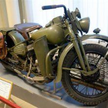 Harley Davidson WLA-42 — Легендарный «Советский» мотоцикл
