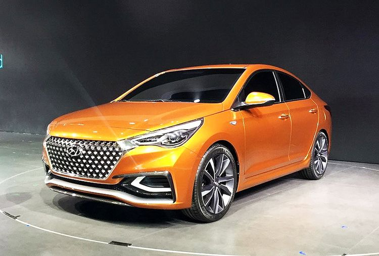 Новый Hyundai Verna 2017 года