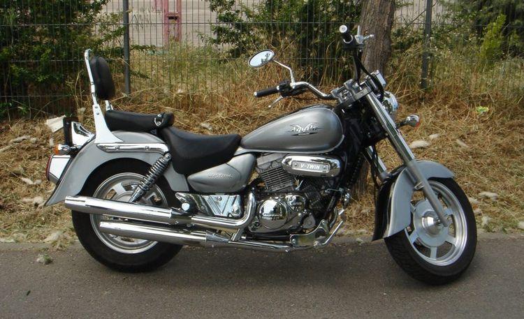 Обзор мотоциклов Hyosung серии Aquila GV
