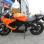 Обзор мотоциклов Hyosung серии GT125R