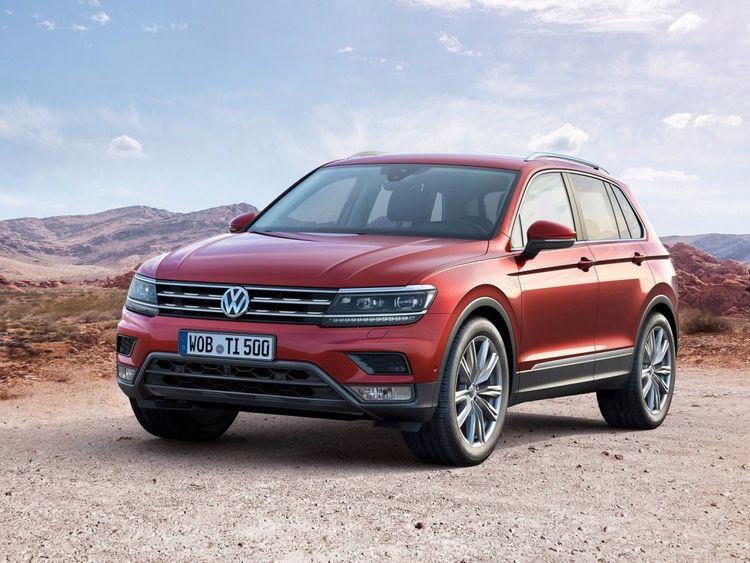 Новый Volkswagen Tiguan 2017-2018 года