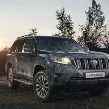 Новый Toyota Land Cruiser Prado 2017-2018