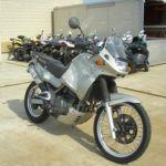 Мотоцикл Kawasaki KLE 400 — по классу туристический эндуро