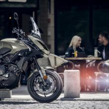 Мотоцикл Kawasaki Versys 650 — эндуро-туристический мотоцикл среднего уровня