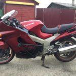 Мотоцикл Kawasaki ZZR 1100 — одно время был самым быстрым серийным байком в мире