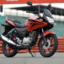 Мотоцикл Honda CBF 125 — неплохой байк для своего класса