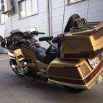 Хонда GL 1500 Gold Wing - внушительный туристический мотоцикл