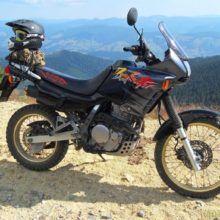 Мотоцикл Honda NX 650 Dominator — достойный туристический эндуро