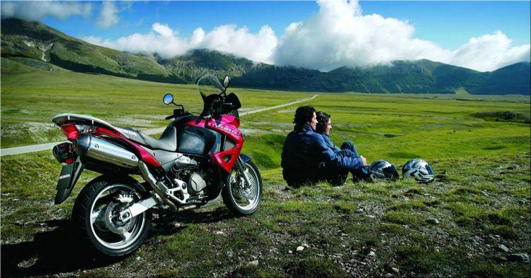 Мотоцикл Honda XL 1000 V Varadero - один из самых производительных туристических эндуро