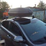 Установка багажника на крышу киа рио