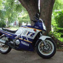 Мотоцикл Yamaha FZ 750 Genesis