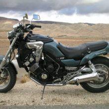 Обзор Yamaha FZX 750 Fazer