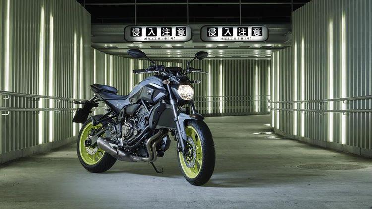 Обзор Yamaha MT-07