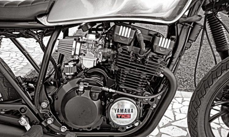 Обзор Yamaha XJ 550