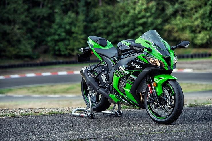 Kawasaki ZX-10R - спортивный и стильный мотоцикл