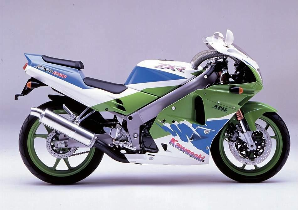 Kawasaki ZXR 250 - спортивный и яркий байк из прошлого столетия